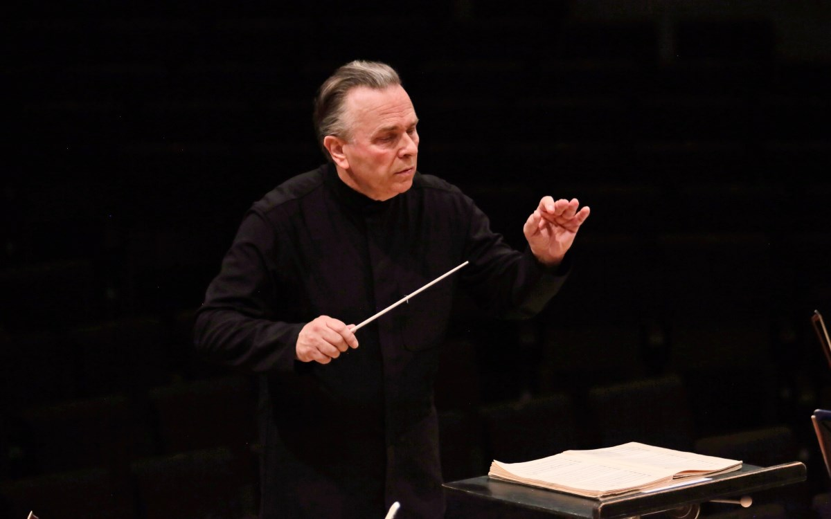 Sir Mark Elder and the Halle